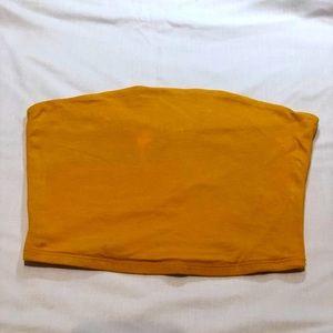 Yellow Tube Top